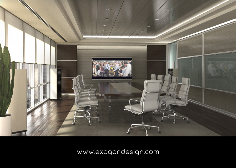 Conference-Room-Interior-Design-Acustyc-Video-System