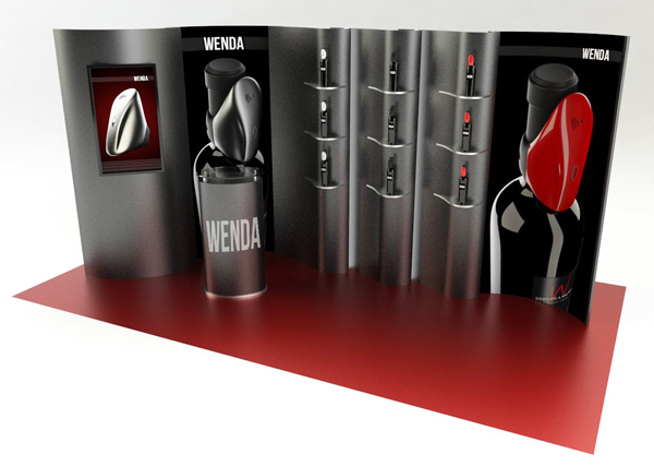 Exagon Design Display Modular Stand Wenda