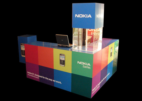 Exagon_Design_Display_Promotional_Stand_Nokia