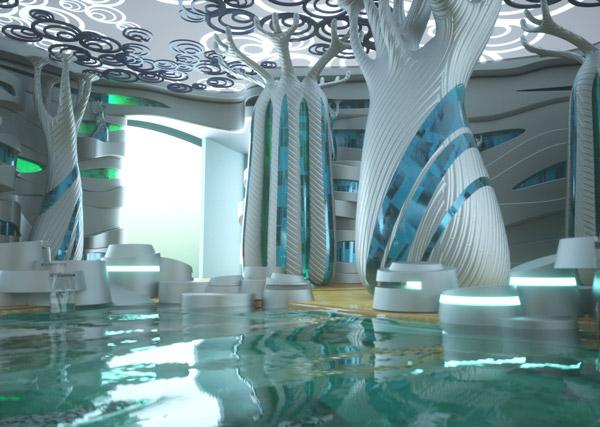 Exagon Design Interior Yachts Privilege Bathroom