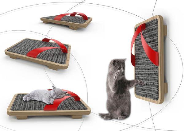 Exagon Design Product Cat Scratching