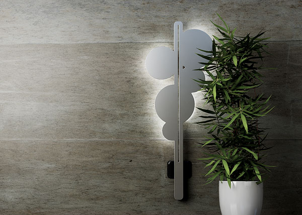 CIAL Salone del Mobile 2011 Clip Led Wall Light