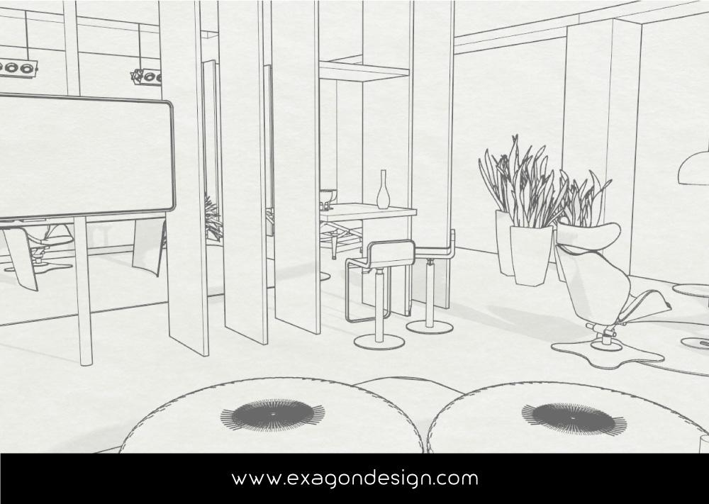 Italpepe-Uffici-Amministrativi-plexiglas-legno-exagon-design_05