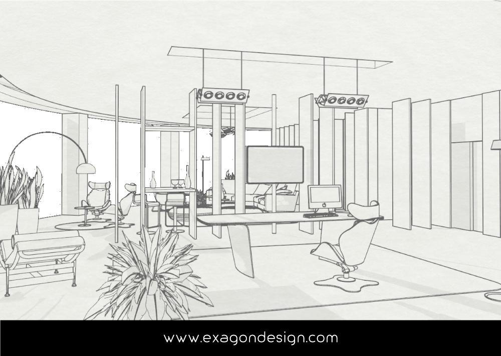 Italpepe-Uffici-Amministrativi-plexiglas-legno-exagon-design_06