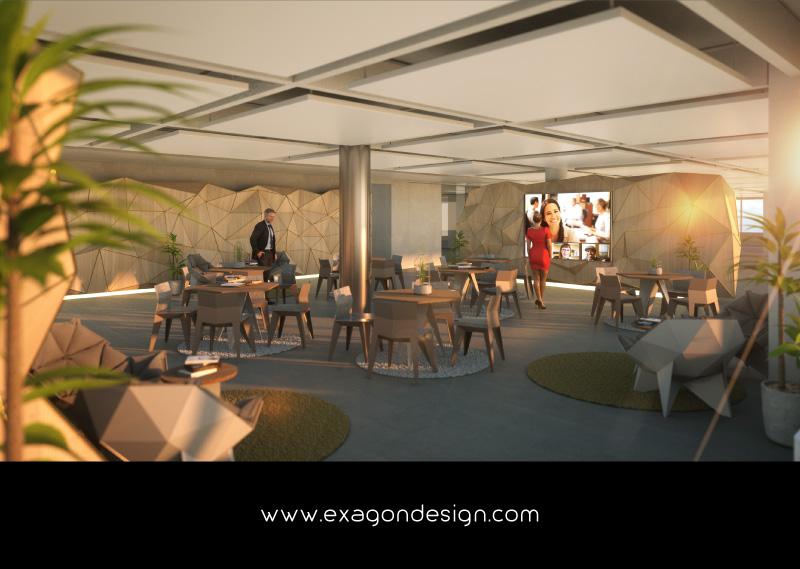 Luxury-Design-Warm-Office-Wood-Geometry