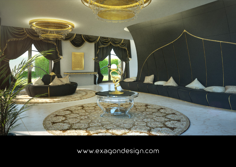 Luxury-Interior-Design-Kuwait-WaitingRoom