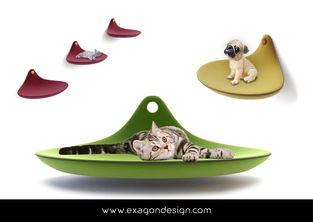 Pet-funny-cat-accessories-exagon-design_02