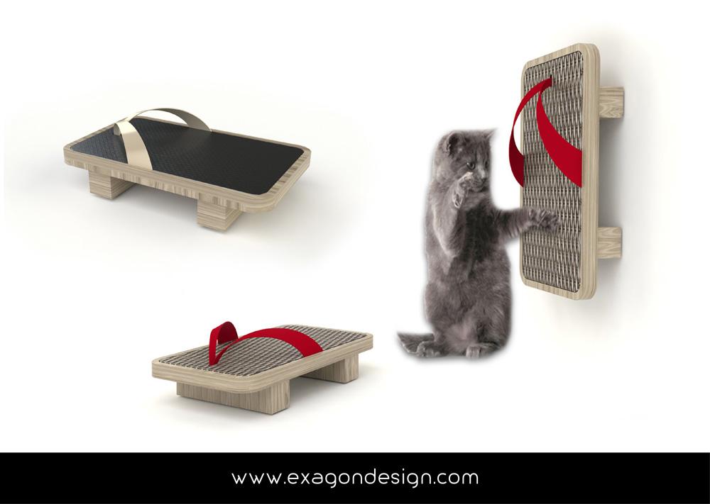 Pet-funny-cat-accessories-exagon-design_05