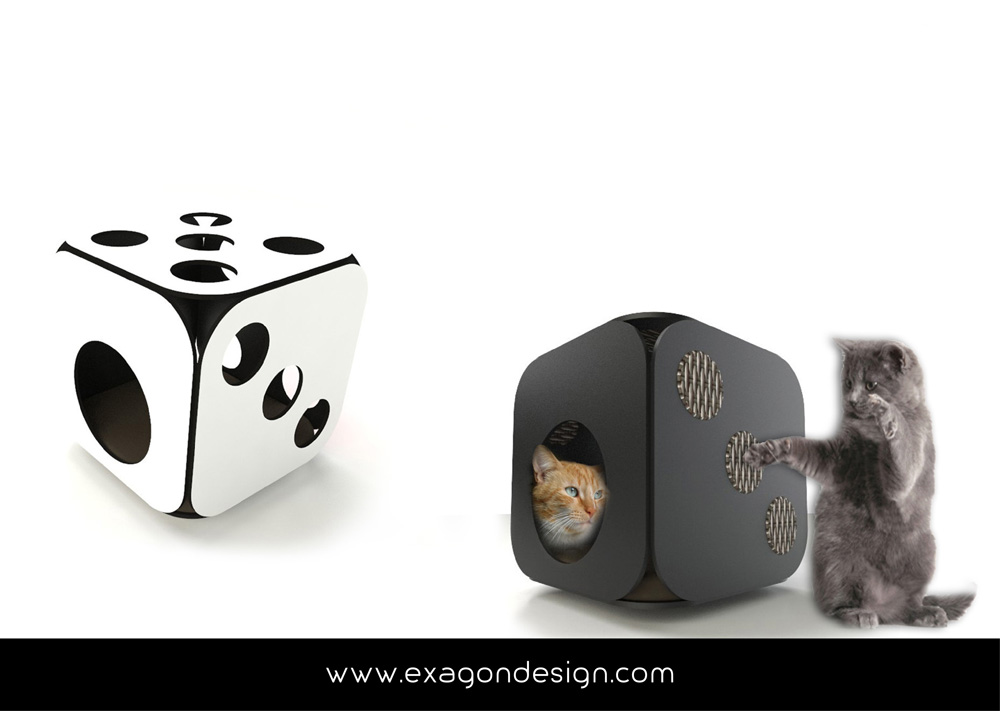 Pet-funny-cat-accessories-exagon-design_06