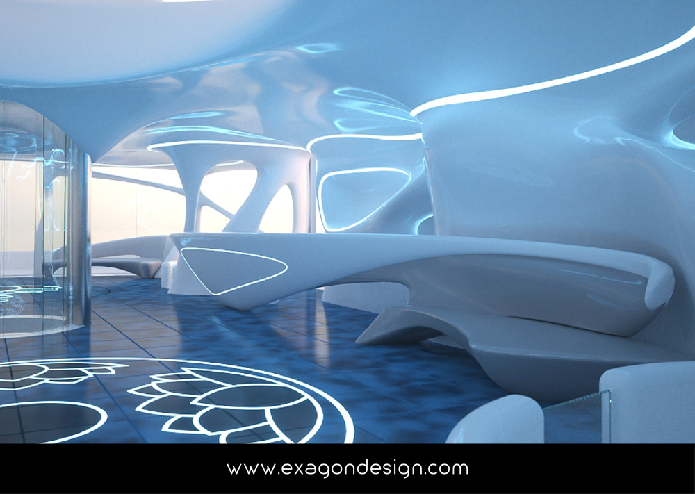 Privilege-Luxury-Yacht-Lounge-bar-exagon-design_08