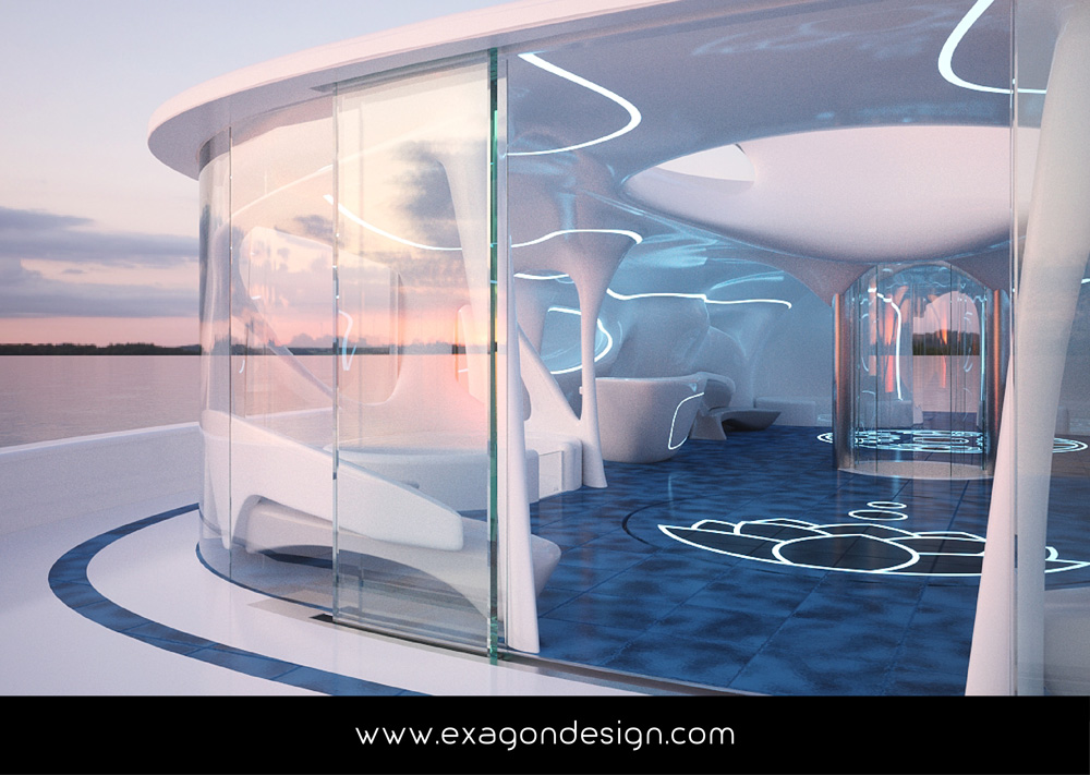 Privilege-Luxury-Yacht-Lounge-bar-exagon-design_09
