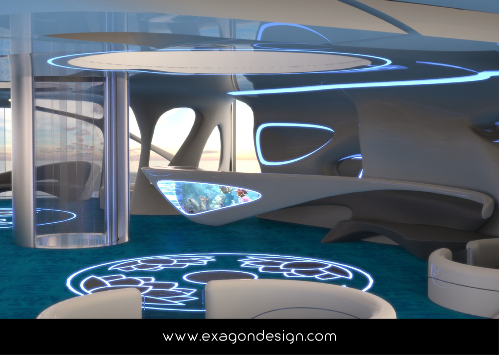 Privilege-Luxury-Yacht-Lounge-bar-exagon-design_10