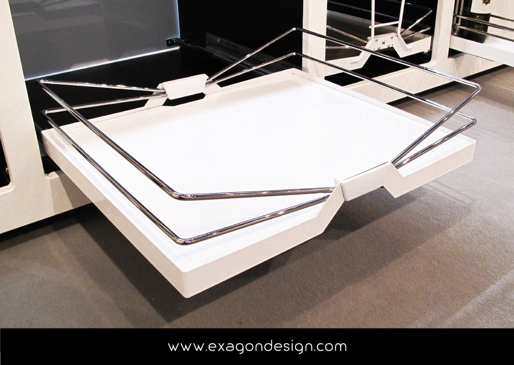 Accessori Per Cucina Moderna.Siderplast Accessori Cesti Cucina Moderna Exagon Design 05