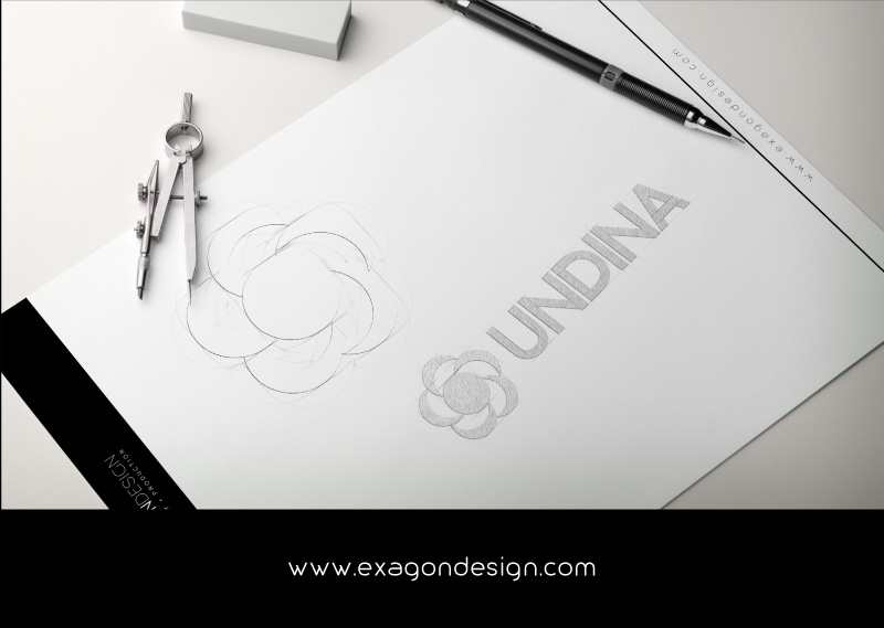 Undina-Logo-Design-Sketch