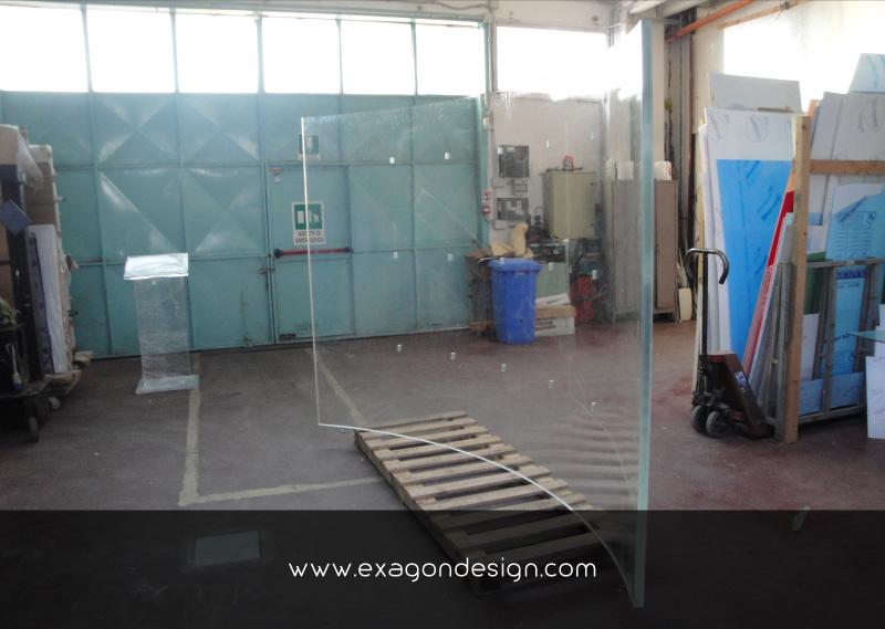 Versace-Plexiglass-Interior-Wall