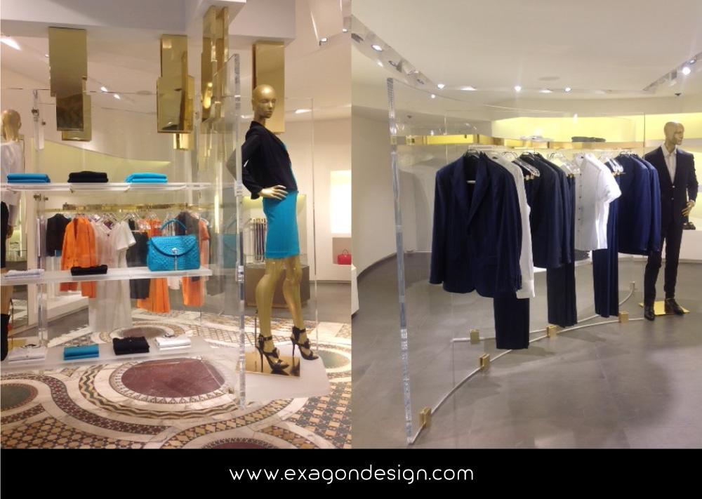 Versace-Tblisi-shop-flying-wardrobe-plexiglas-and-brass-exagon-design_04
