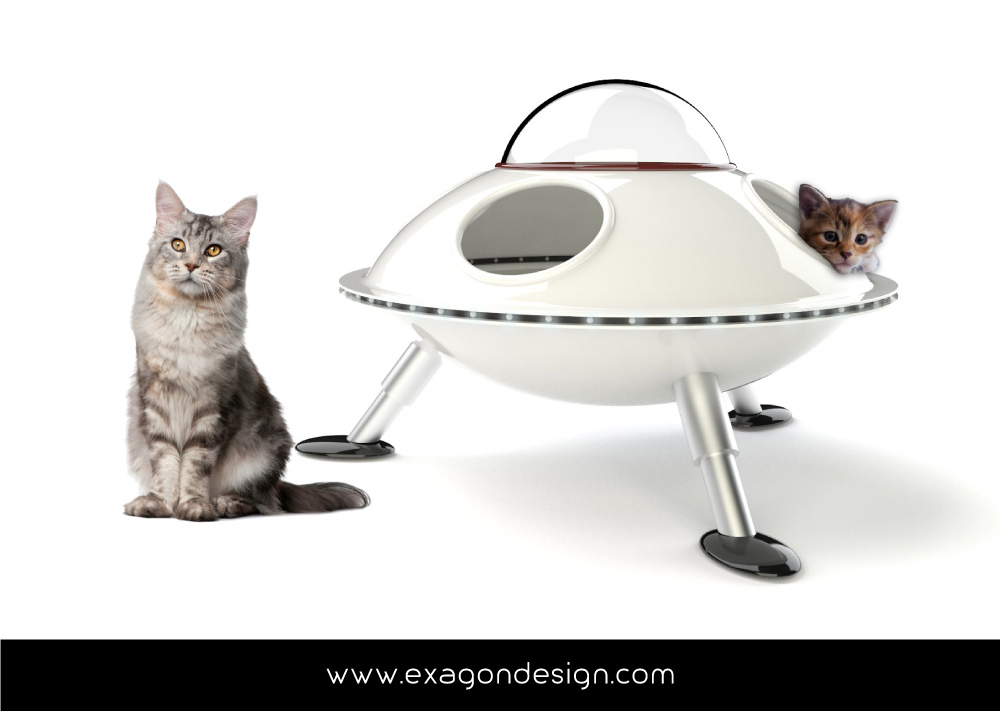 Pet-Design-cuccia-per-gatti-ufo-exagon-design_03