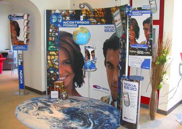 Area Promo Nokia Exagon Design