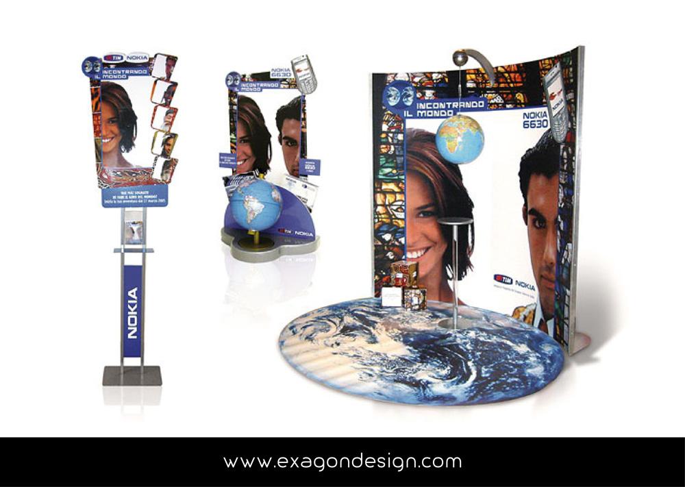 Area Corner Promo Nokia Exagon Design