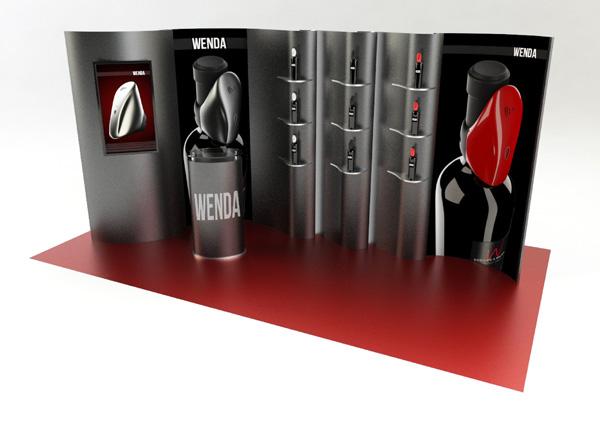 Stand Wine Area Promozionale Wenda