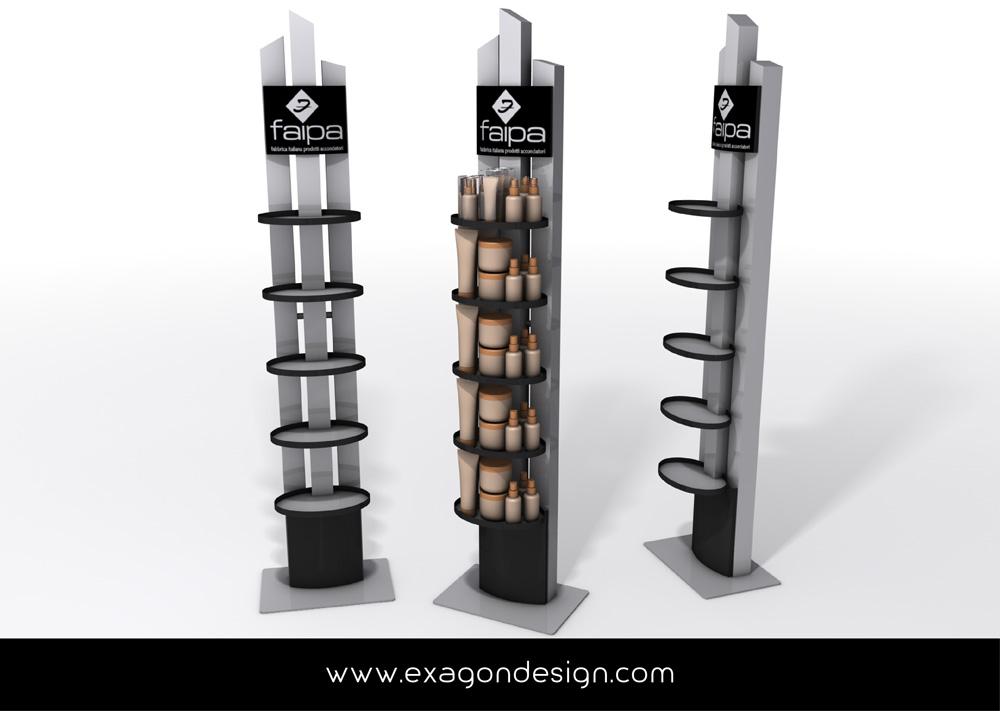 Espositore_Da_Terra_Stand_Floor_Faipa_Exagon_Design-02