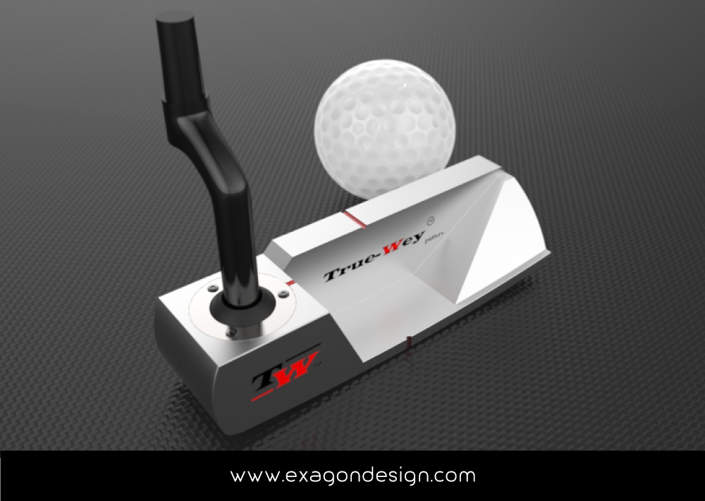 Putter_Golf_truewey_exagon_design_07