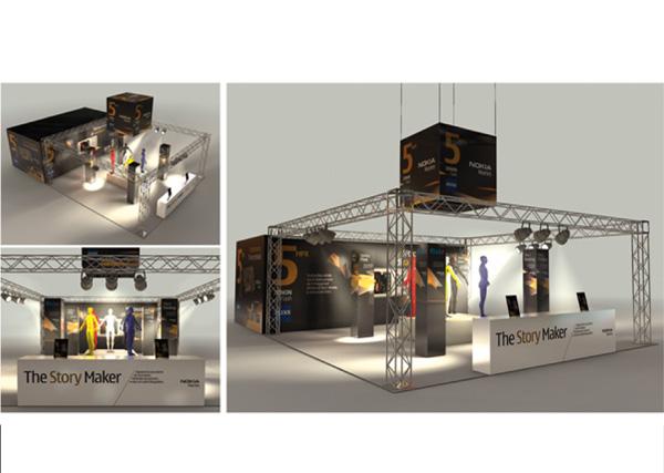Stand_Fieristico_Nokia_Exagon_Design_-01-01