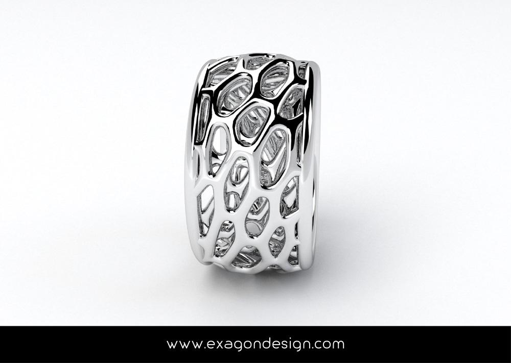 Anello-mesh-organica_exagon_design_02
